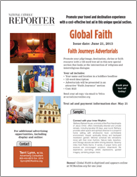 Global Faith Text ads