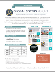 Global Sisters Report web advertising